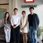 6 NOV 2018   Mr.Lim from DST (Korea) visit Covermat office for some business collaboration