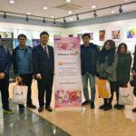 17 Nov 2018   Covermat Media Team visit John's Media factory in Korea