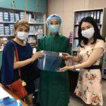 บริษัท โคเวอร์เเมท จำกัด ได้มอบอุปกรณ์ FaceShield ให้กับหน่วยงานโรงพยาบาล
